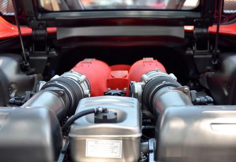エンジンの中の写真