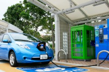 電気自動車充電スタンド