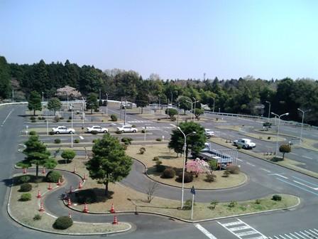 自動車学校の風景