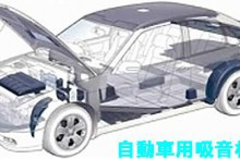 自動車の防音材